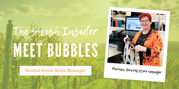 The Swish Insider: say hi to Bubbles from the Bowral Swish store!