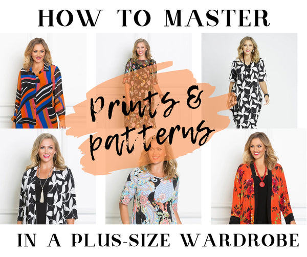 7 tricks on how to nail prints and patterns in the plus-size wardrobe.