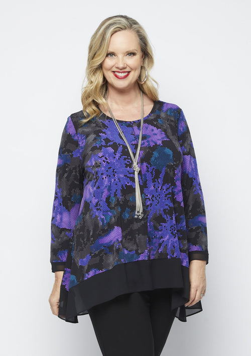 80056 MOSAIC MOODS CONTRAST TOP