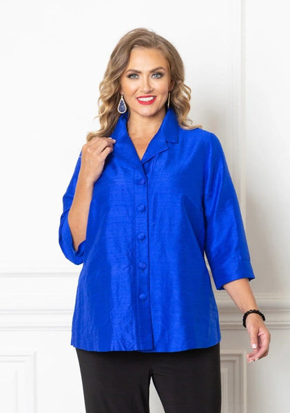 51051 Silk Button Shirt