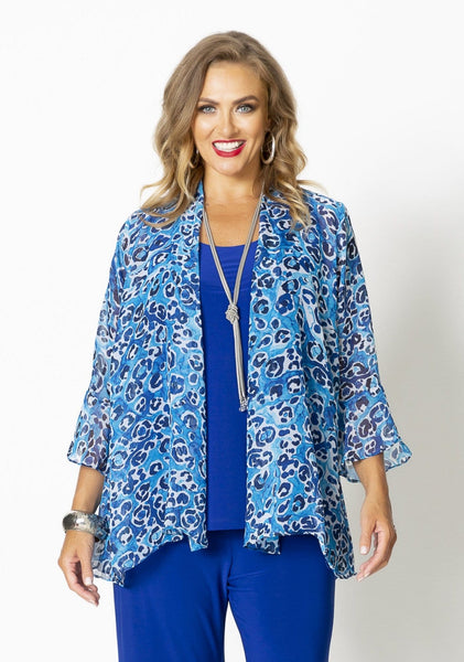 74024 BLUE PEBBLES JACKET