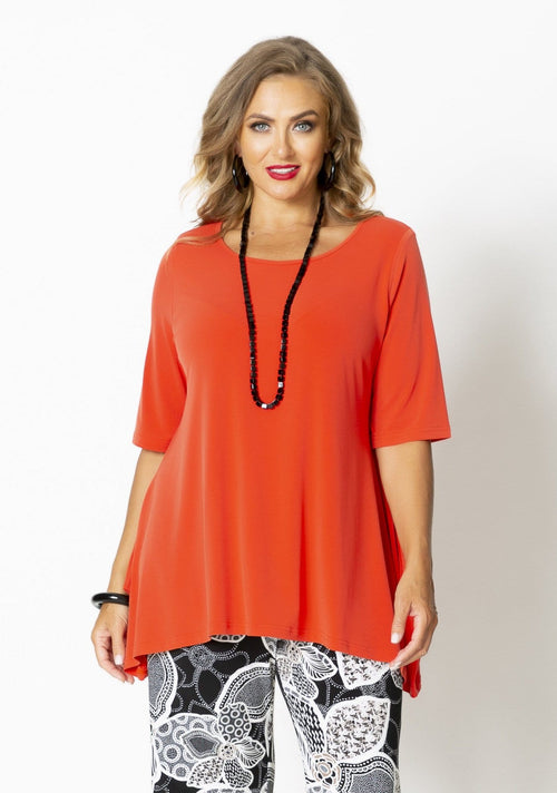1034 Drop Side Jersey Top