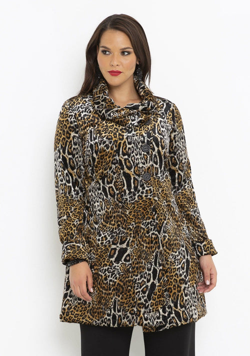 64004 BRONZE LEOPARD JACKET
