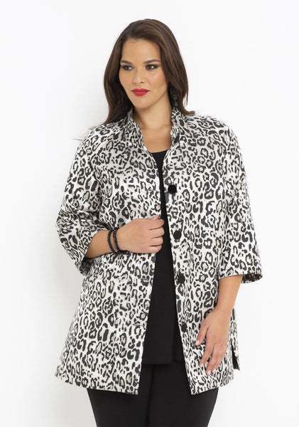 64086 LIGHT GOLD ANIMAL JACKET