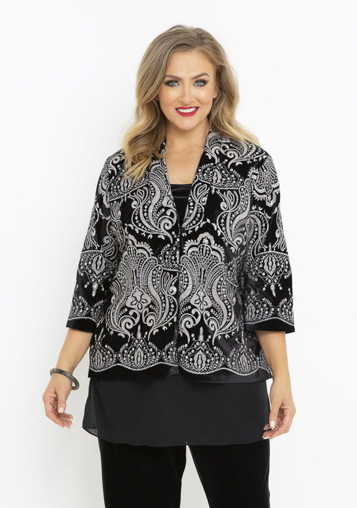 64008 GLAMOUR SHORT JACKET