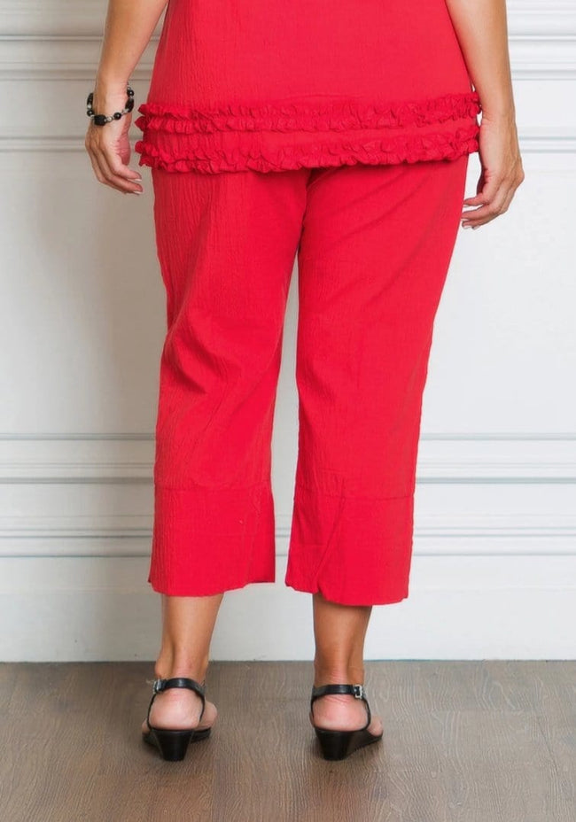 52003 Crinkle Cotton Pant