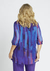50094 Purple Haze Shirred Top