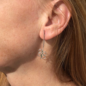 Bubble Stick Earrings