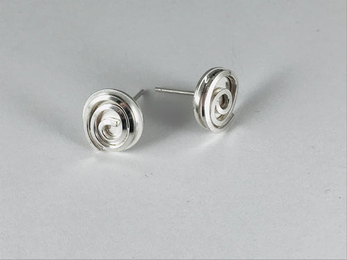 Spiral Studs Earrings