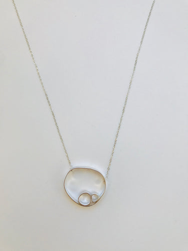 Circle Rock Necklace