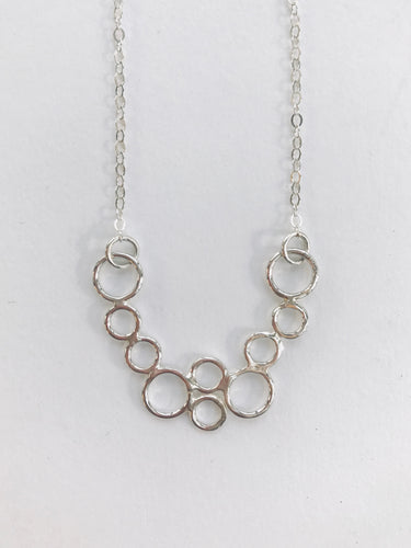 Curved Bubble Necklace