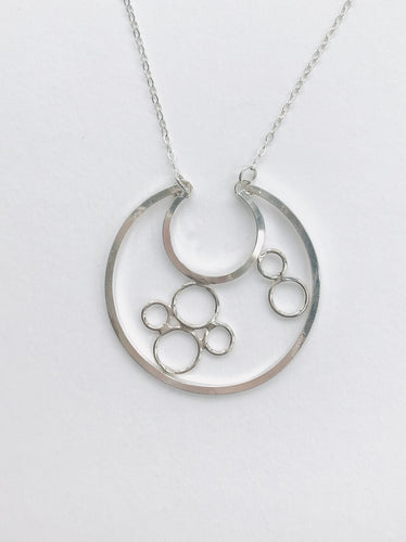 Large Circle Bubble Necklace
