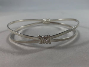 Wrapped Bangle Bracelet