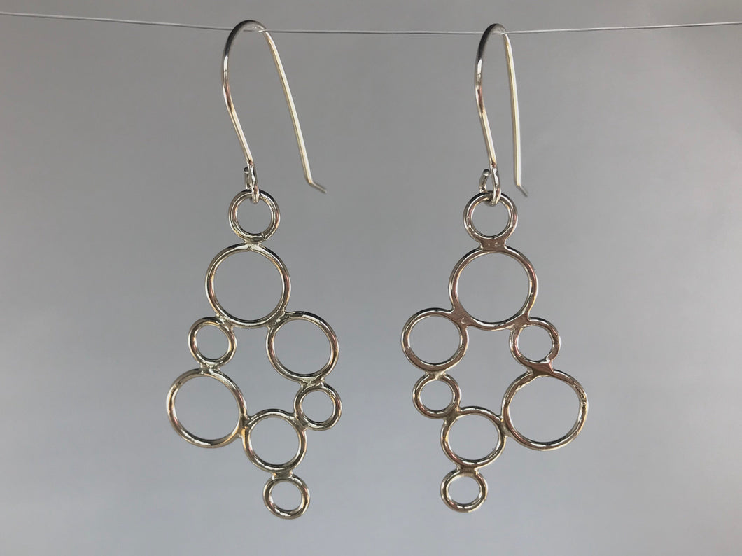 Bubble Dangling Earrings