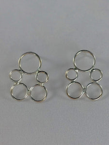 Bubble Post Earrings