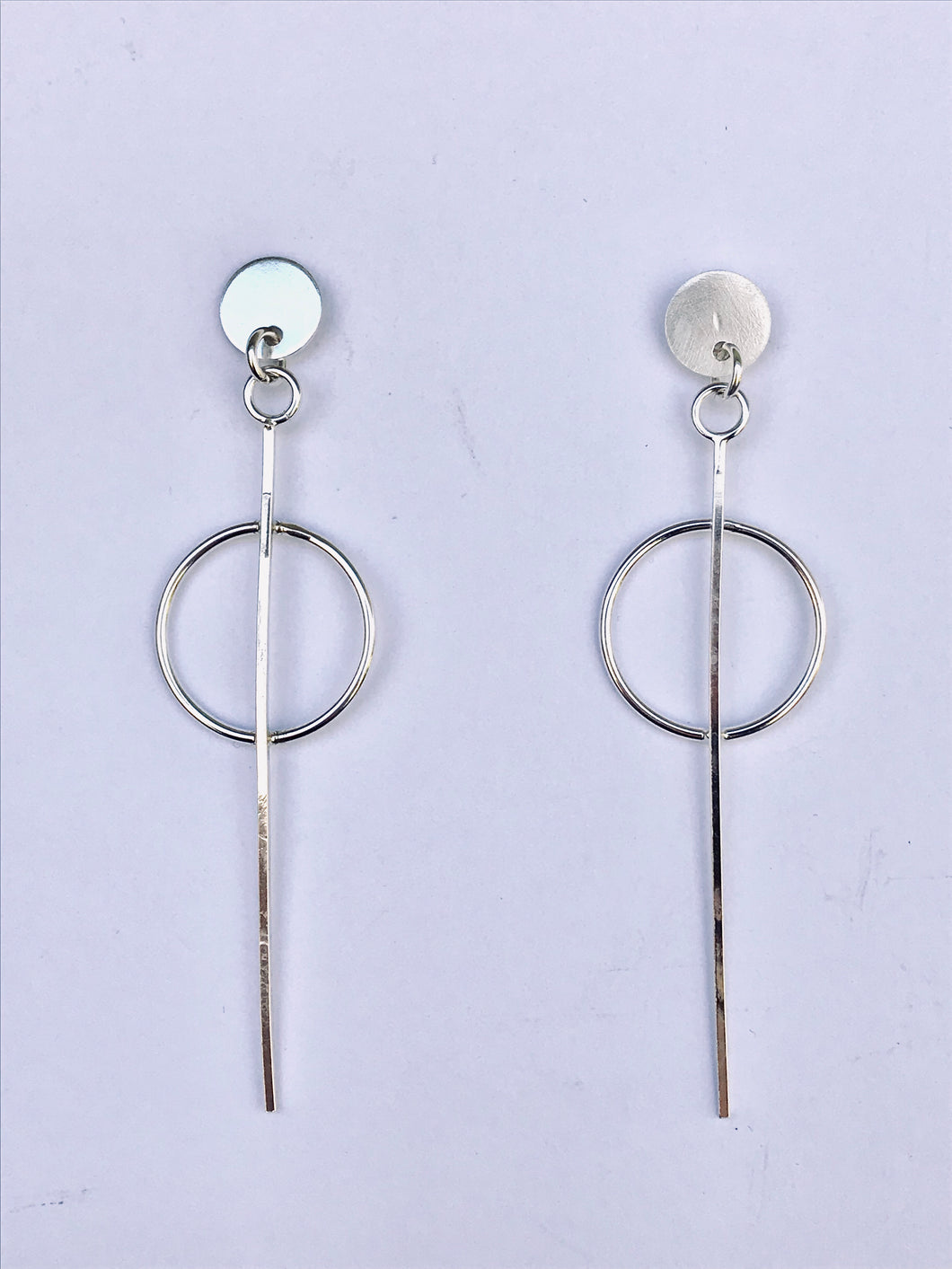 Long Modern Earrings