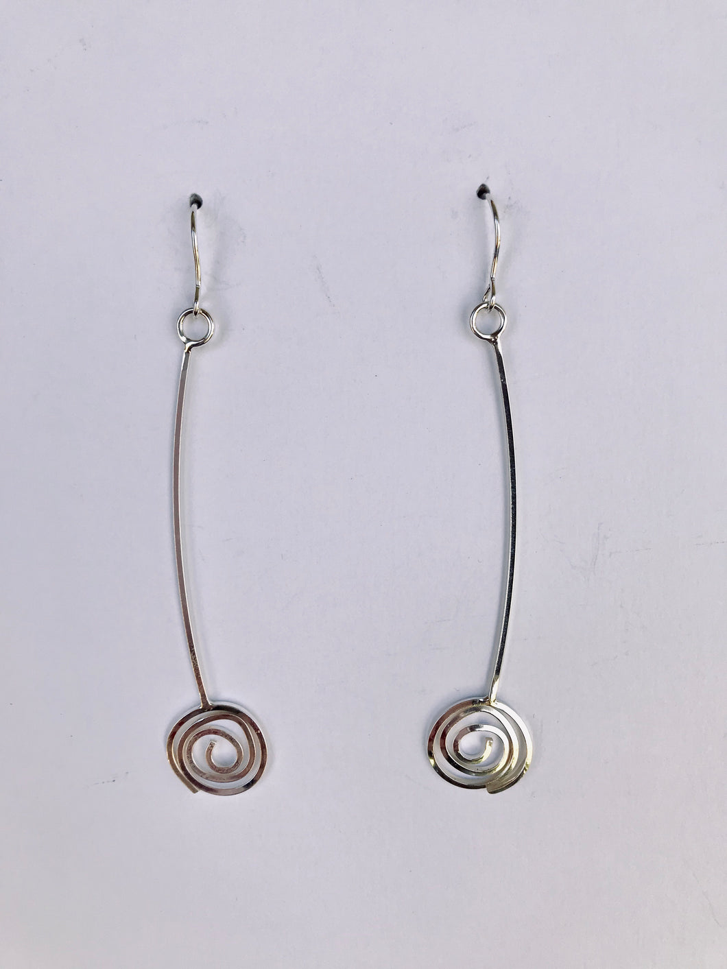 Long Swirl Earrings