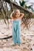 Island State Co - The Mexican Playsuit Deep Aqua