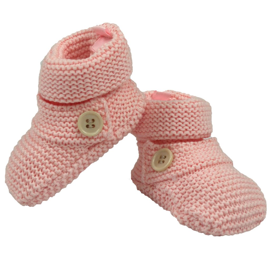 Baby Gifts Button Bootie Knitted Booties