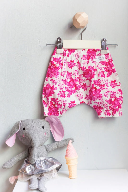 And The Little Dog Laughed - Baby Bloomers - Vintage Rose