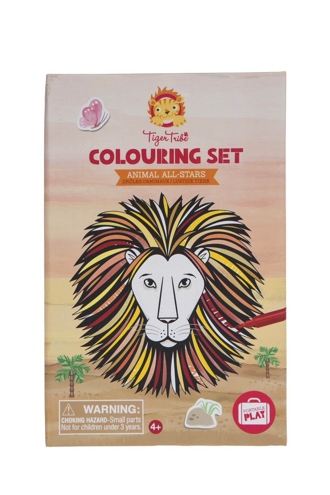 TIGER TRIBE Colouring Set - Animal All-Stars