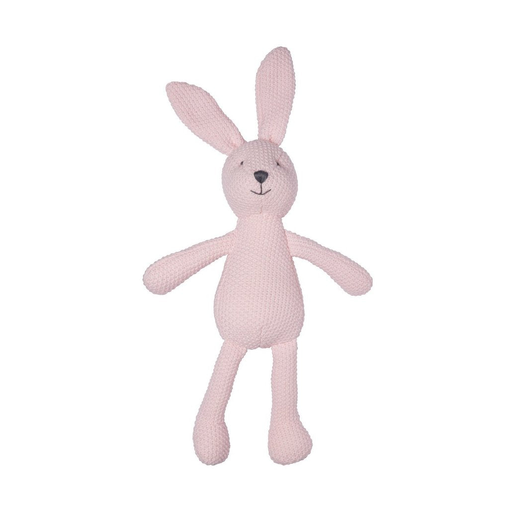 LILY & GEORGE  Wild Ones Knitted Bunny - Pink or Grey