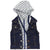 KORANGO Lightning Bolts Hooded Vest