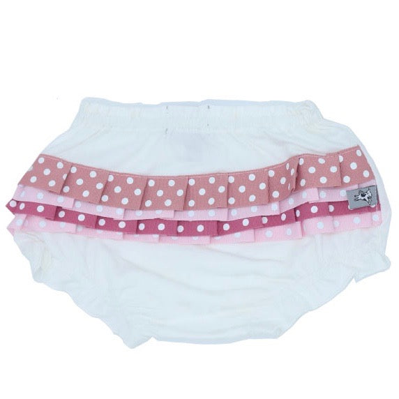 And The Little Dog Laughed Frilly Lilly Nappy Cover