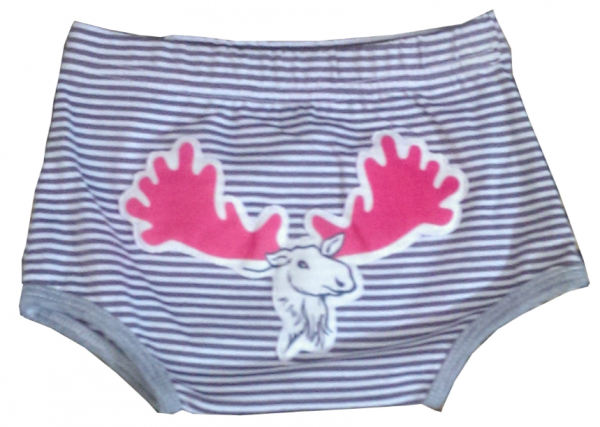 And The Little Dog Laughed - Moose Nappy Cover