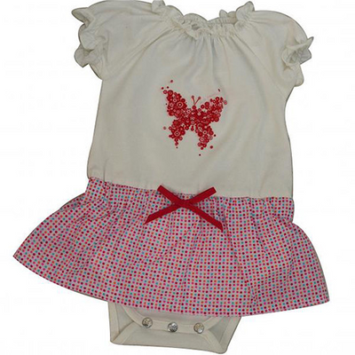 And The Little Dog Laughed Sprinkles Tutu Romper