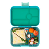 Yumbox Tapas Box Flamingo Antibes Blue - 4 compartment tray