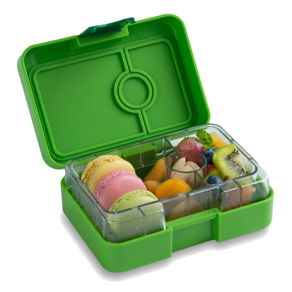 Yumbox Mini Snack Box Avocado Green