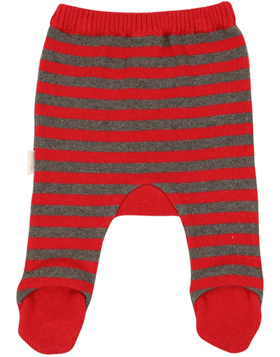 KORANGO Baby Mr Fox Stripe Knit Legging