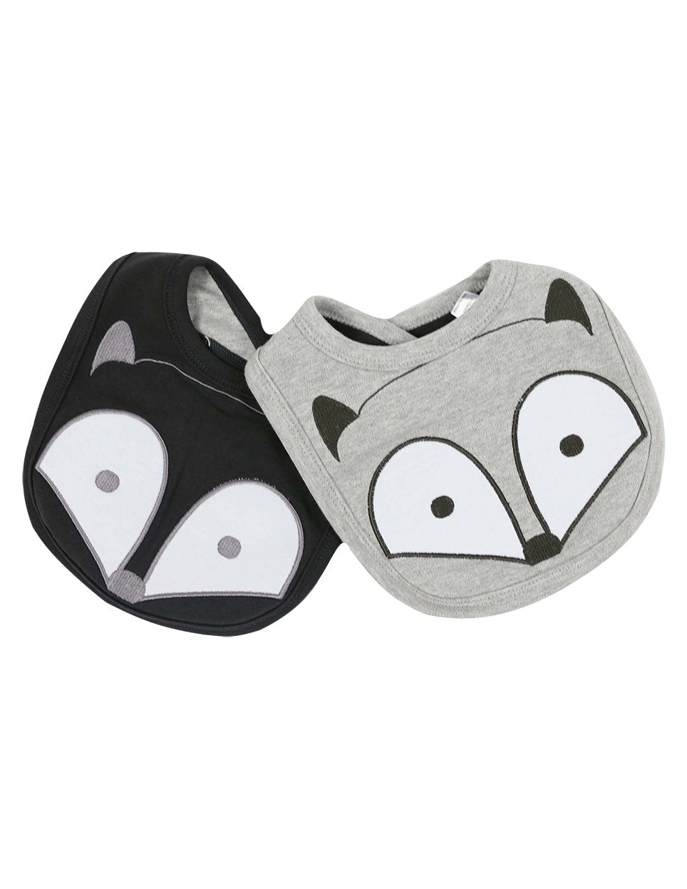KORANGO Baby Mr Fox Bib - 2 Pack