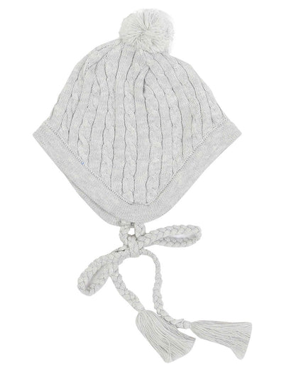 KORANGO Baby Little Fawn Cable Knit Beanie