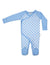 KORANGO Baby Check Long Sleeve Romper