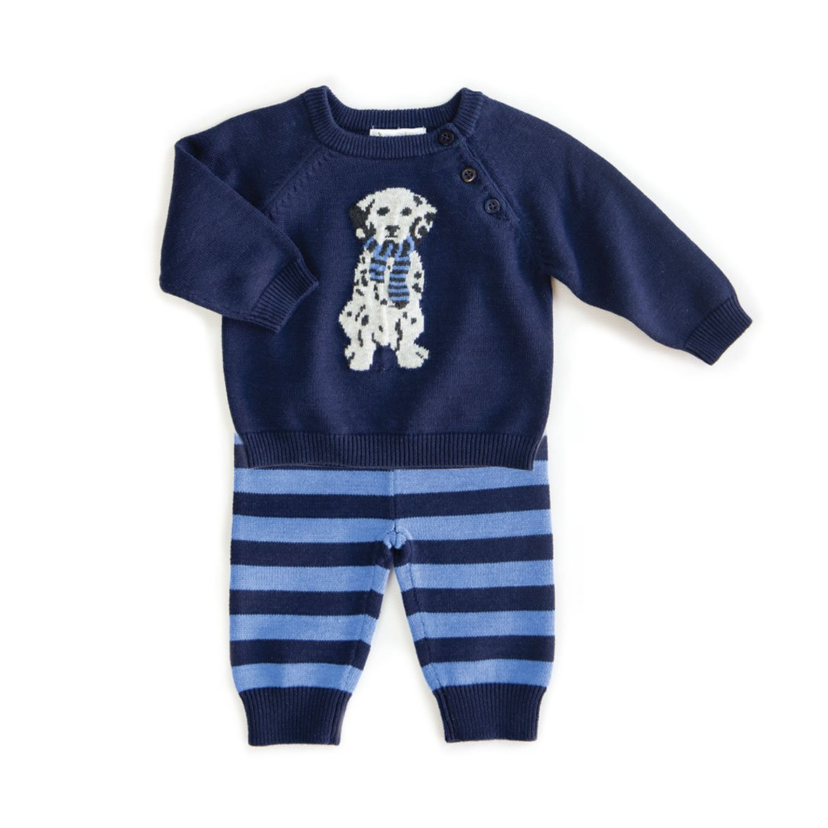 BEANSTORK - Doggy 2 Piece Set Multi Blue
