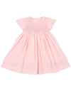 KORANGO Sweet Style Timeless Smocked Dress - Baby Pink