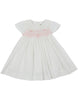Sweet Style Timeless Smocked Dress - White