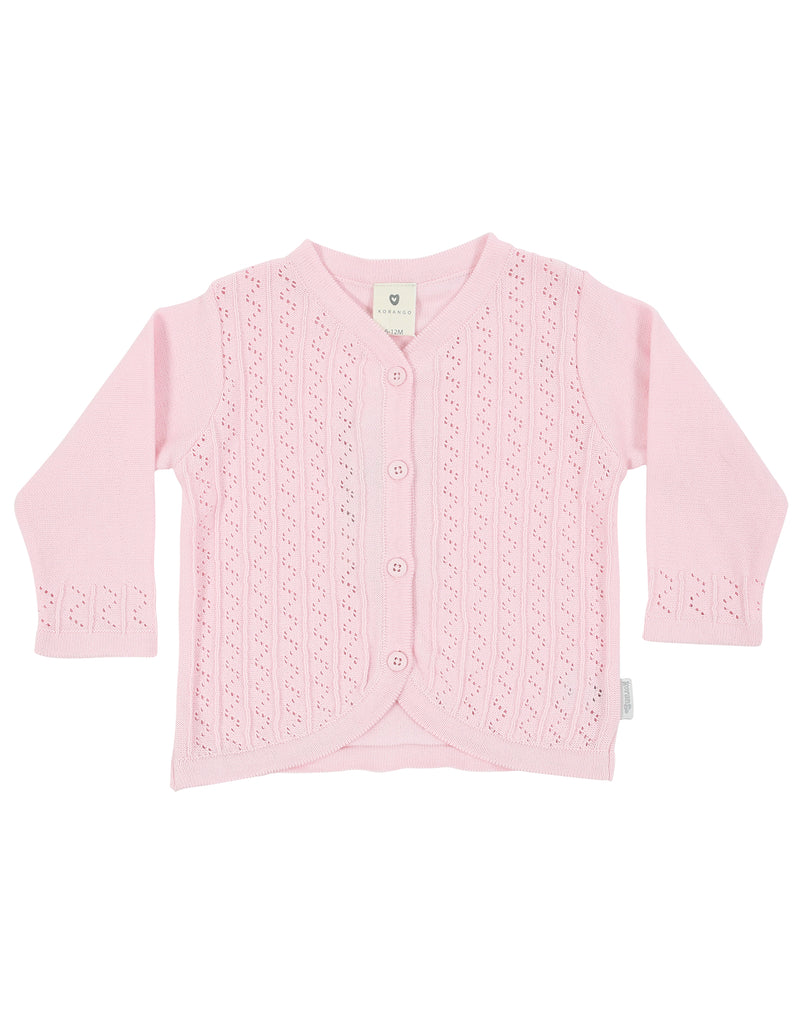 Sweet Style Cardigan - Pink