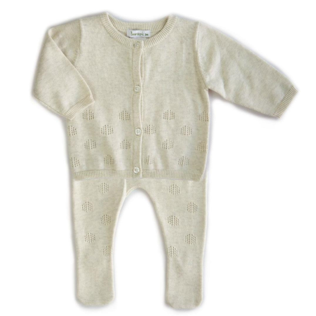 BEANSTORK - Leaf 2 Piece Set Oatmeal
