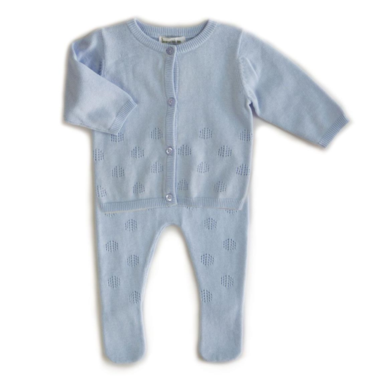 BEANSTORK - Leaf 2 Piece Set Blue