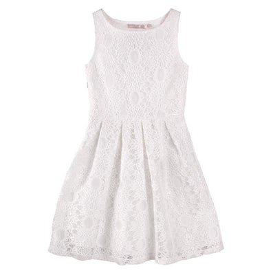 DESIGNER KIDZ Melrose Avenue Dress - Ivory