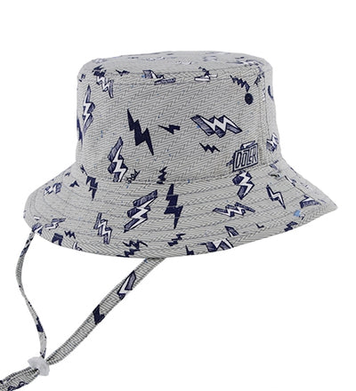 Millymook Dozer Boy Bucket Hat - Zap Blue