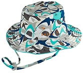 Dozer Baby Boy Bucket Hat - Chomp Multi