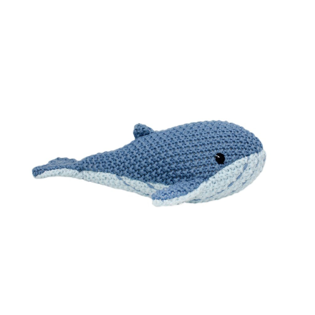 LILY & GEORGE Walter Whale Rattle