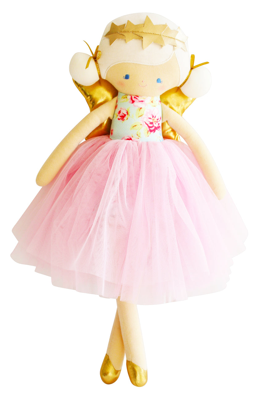 Alimrose Willow Fairy Doll 48cm Blue Pink