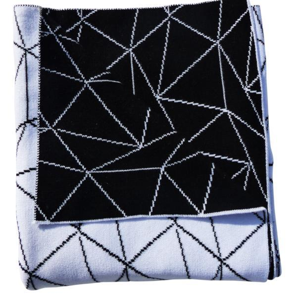 EMOTION & KIDS Galaxy Bassinet Blanket - Black & White