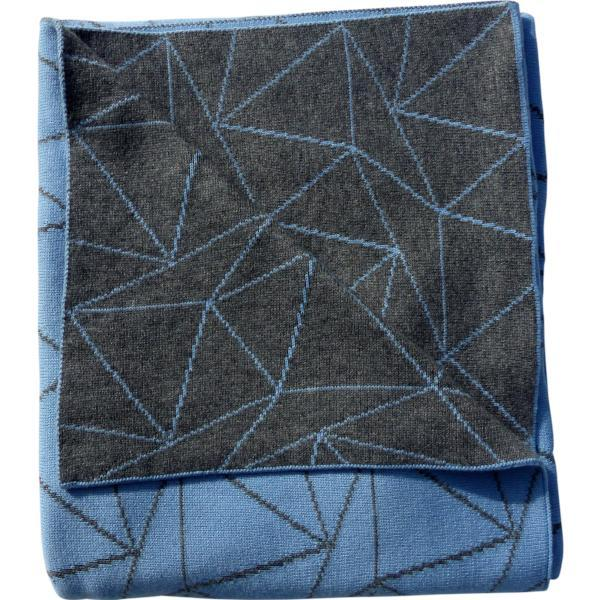 EMOTION & KIDS Galaxy Bassinet Blanket - Blue & Grey