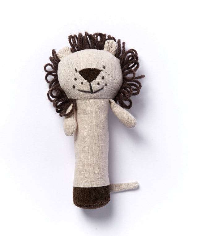NANA HUCHY Levi The Lion Baby Rattle